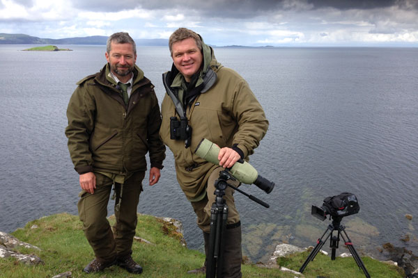 Ray Mears on Skye